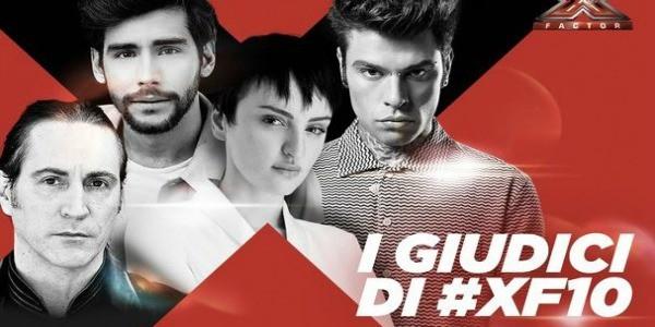 X Factor 10: Arisa, Manuel Agnelli, e Alvaro Soler in giuria con Fedez